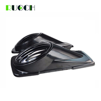 Motorcycle Bag Hard Saddlebag 6x9 Speaker Lids W/ Speaker Grill for Harley Touring Models 1994 2013 Saddle Bag