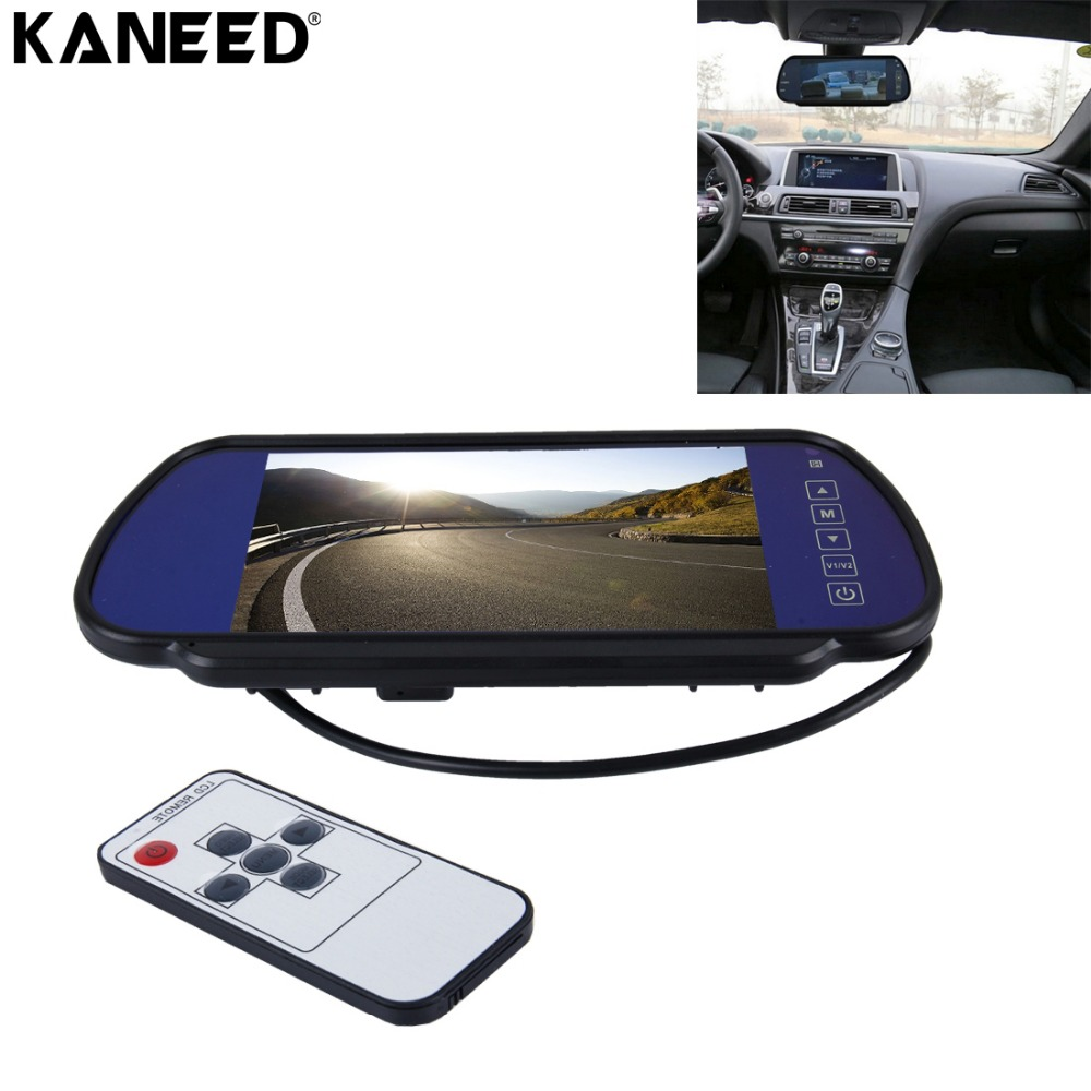 Car Monitor 7.0 inch TFT LCD Auto Dimming Car Parking Rearview Mirror Monitor for nissan Kia hyundai Backup Rear View Camera auto backup rear licence plate rearview camera with 7 inch bluetooth mp5 tft display monitor mirror usd fm slot free shipping