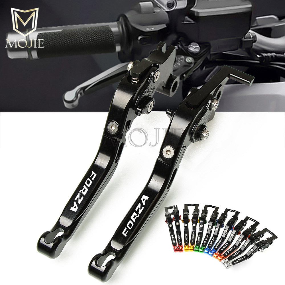Motorcycles CNC Folding Extendable Brake Clutch Levers For Honda FORZA 300 125 250 2010 2018 2011