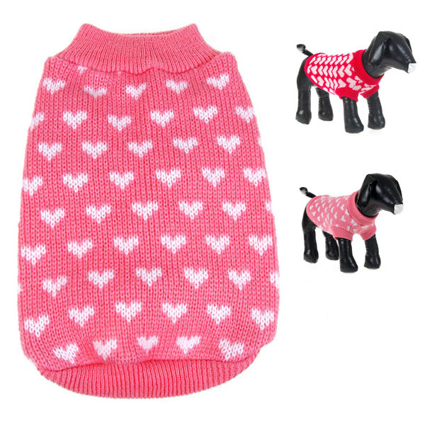 New Dog Clothes Sweate Christmas BEST Gift Small Pet Dog Cat Winter Warm Knitwear Puppy  ...