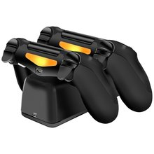 PS4 LED Controller Dual USB Charging Station