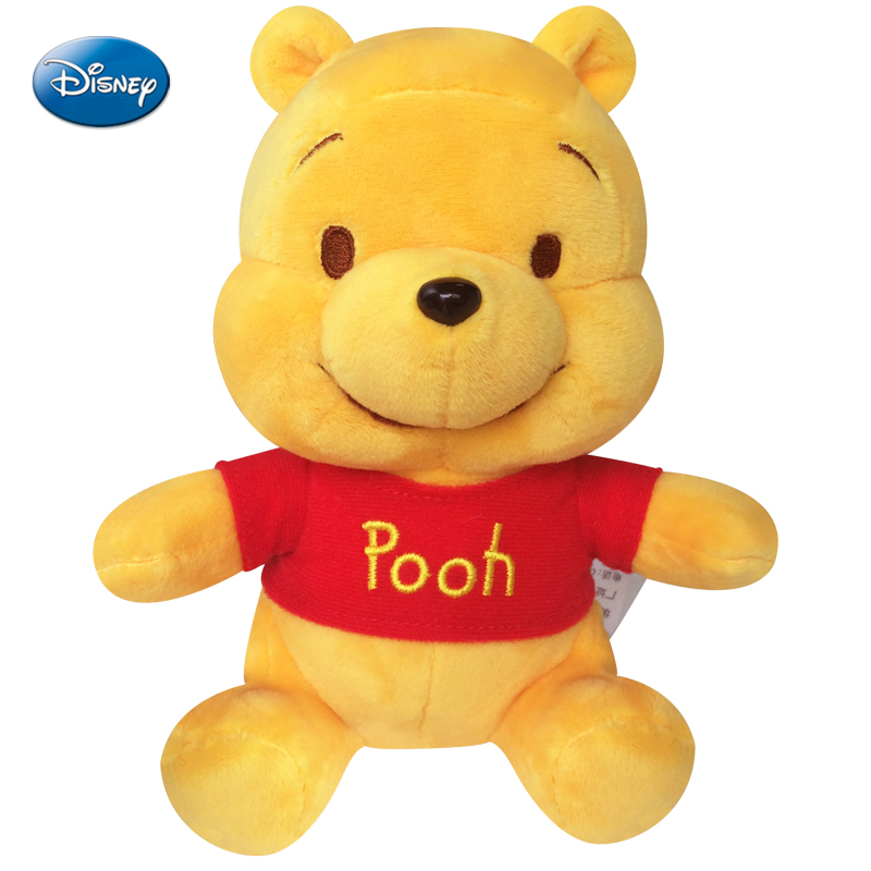Original Disney Winnie The Pooh Bear Plush Toy Doll Pooh Stuffed Plush Dolls Toys Birthday Gifts For Children