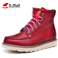 Waterproof Men's Ankle Boots 2016 Winter Warm Martin Boots for Man Fashion Snow Fur Boots Mens Shoes Western Motorcycle Boot