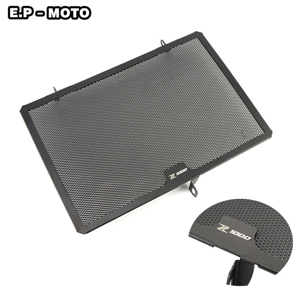 Motorcycle Aluminum Simple Radiator Guard Cover Grill Guard For Z800 2013 2016 Z1000 2007 2017 in Covers Ornamental Mouldings from Automobiles Motorcycles