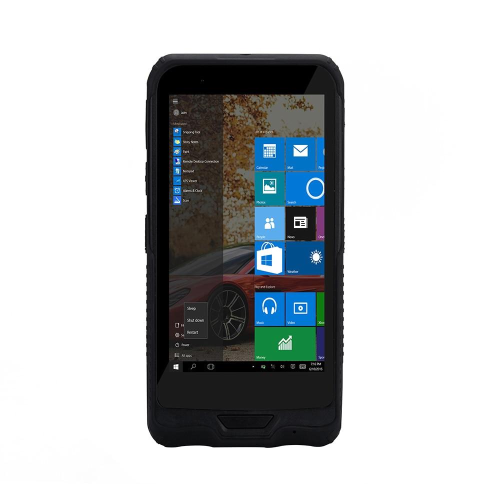 5 98 polegada handheld pda com windows 10 casa versao 1d 2d pda scanner de codigo
