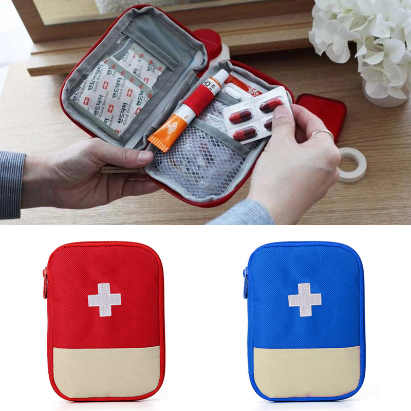 New Durable Outdoor Camping Home Survival Portable First Aid Kit Bag Case well XR-Hot