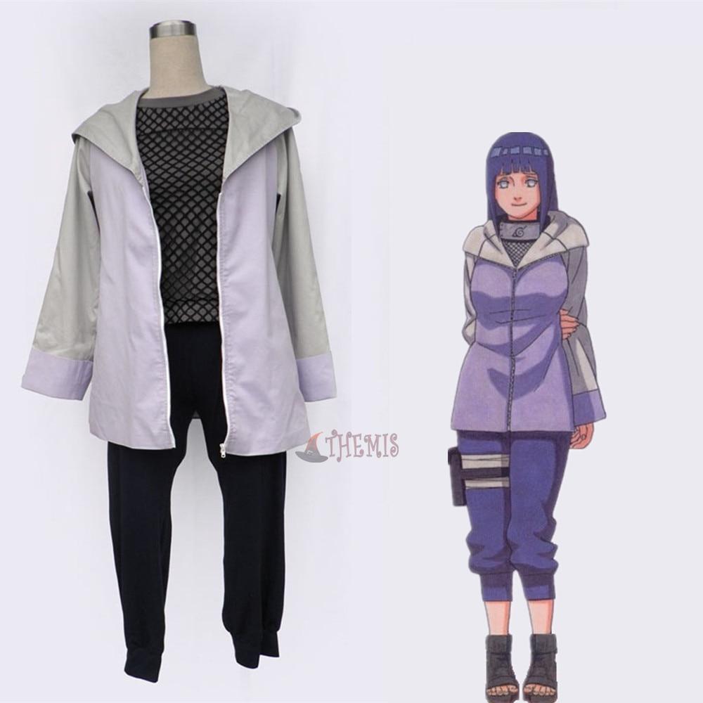 Athemis Anime Hyuga Hinata Naruto Cosplay costume and cosplay clothes custom made