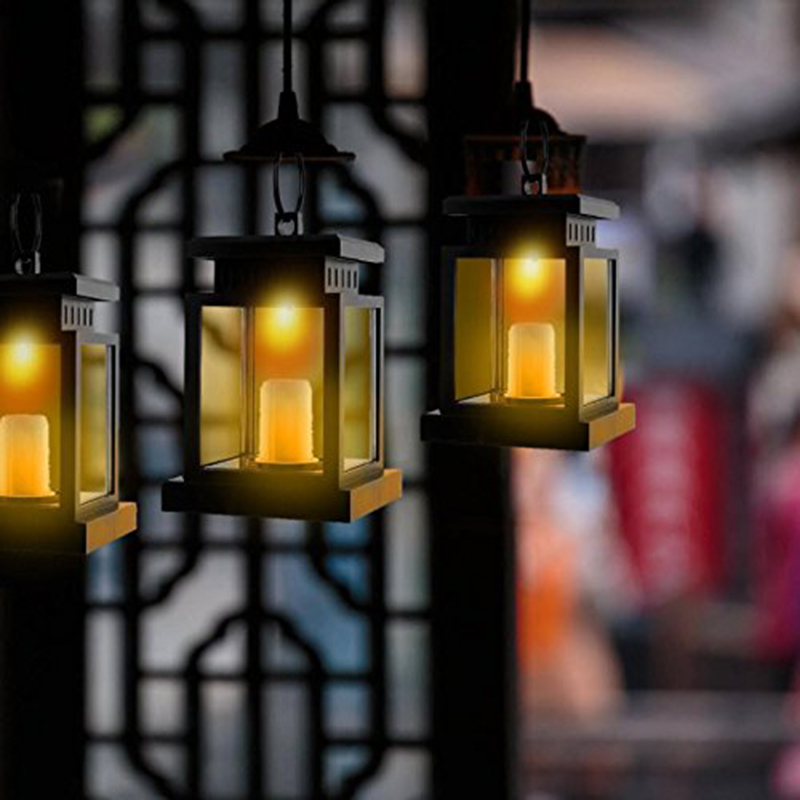 Guarda chuva Pendurado Luzes Lanterna Portátil Lâmpada