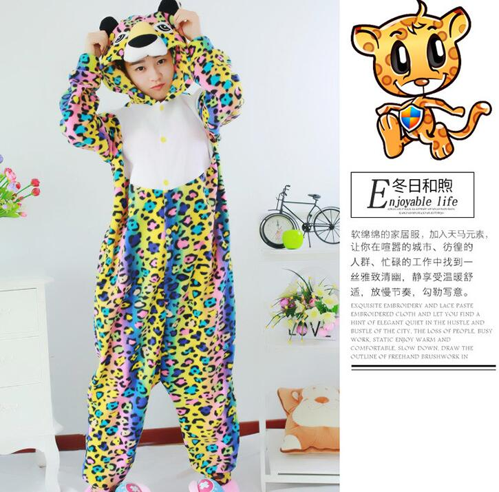 new style winter adults animal spotted leopard christmas footed pajamas onesie cosplay costumes pyjamas for party in game costumes from novelty special