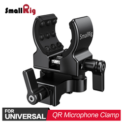 SmallRig Camera Clamp Quick Release Microphone Mount for Shot gun Microphone Holder (NATO Clamp) Adjustable BSM2351