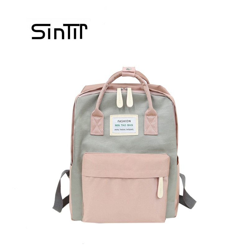 SINTIR Brand Backpacks Women Children Schoolbag Back Pack Leisure Korean Fashion Knapsack Travel Bags for School Teenage Girls