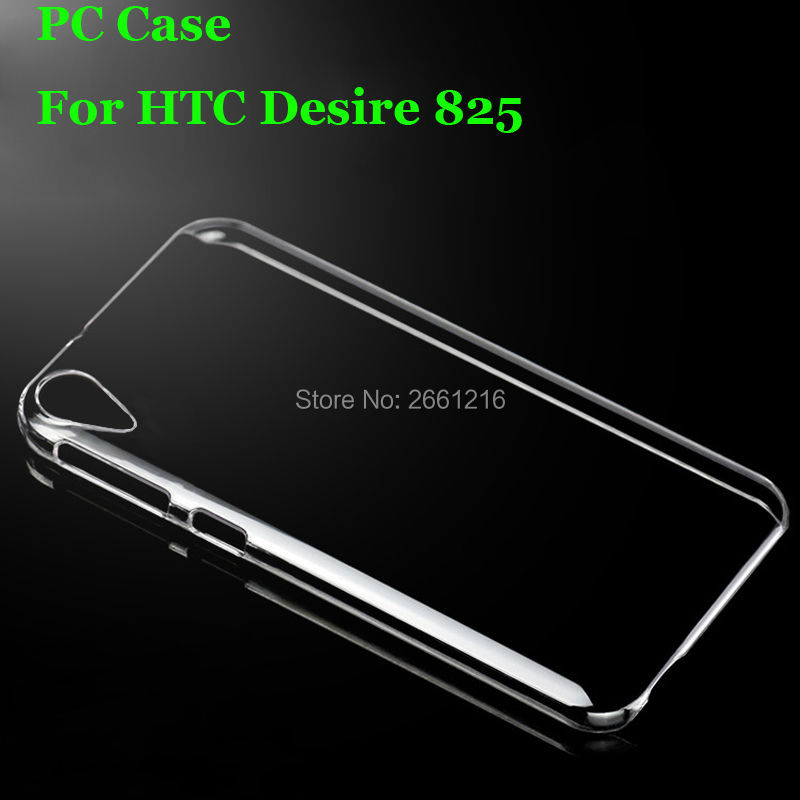 Для HTC 825 жесткий корпус ультра тонкий чистый жесткий Пластик крышка Защитная пленка для HTC Desire 825 5.5 дюймов