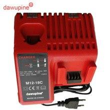Мощность инструмент аксессуар литий-ионный Батарея Зарядное устройство для Milwaukee12V 14,4 В 18 В M12-18C C1418C M18 M14 M12 Serise Запчасти
