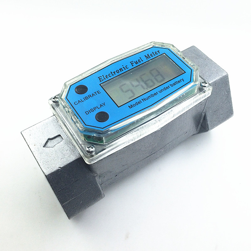 ФОТО digital fuel flow meter diesel gasoline methanol water flowmeter counter alcohol caudalimetro fuel flow sensor indicator gauge