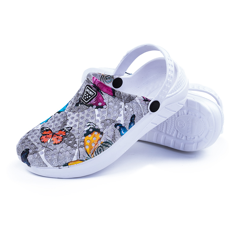 2019 Summer Women's Garden Sandals Breathable Beach Aqua Shoes Outdoor Wading Hollow-out Clogs Lightweight Swimming Slipper