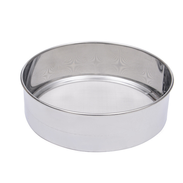1PC Stainless Steel Fine 15cm round flour sieve 40 Mesh Strainer Colander Sifter Advanced Kitchen Cake Baking Tools OK 0645 in Sifters Shakers from Home Garden