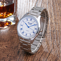 Новое поступление Sloggi часовой бренд женской полный серебряный Сталь ремешок цифровые часы, Высокое качество relogio masculino дамы кварцевые часы