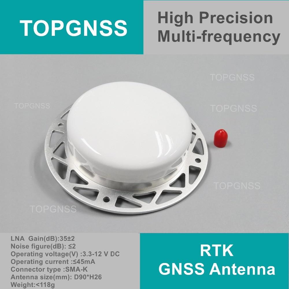 Aviation aéronef sans pilote (UAV) haute précision RTK DE mesure antenne petit sizelight poids GPS/Glonass/Beidou Antenne, antenne GNSS LHY-3703A