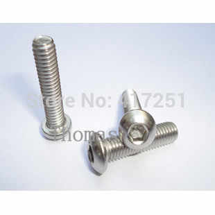 Harga 1 Buah Benang Metrik M4 * 18 Mm Stainless Steel Dalam Bulat Hexagon Baut Sekrup Pengencang
