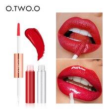 O.TWO.O 2 In 1 Liquid Lipstick Velvet Glitter Lipsticks Sexy