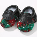 Genuine Leather First Walkers Patchwork mesh Baby shoes Baby moccasins Mixed colors Baby boys Shoes
