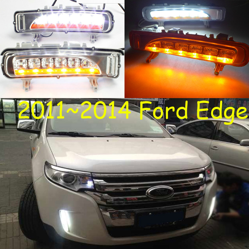 For Edge daytime light;2011~2016,Free ship!LED,Edge fog light,ecosport,kuga;Edge fog lamp edge clothing edge clothing ed006ewhst72