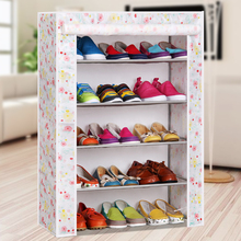 Quality non-woven shoe dust and moisture simple minimalist modern creative storage multilayer Specials