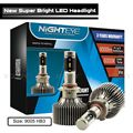 NIGHTEYE 9005 HB3 LED Headlight Conversion Kit 60W 9000LM 6000K HID White Bulbs 	60W/Set 30W/Bulb