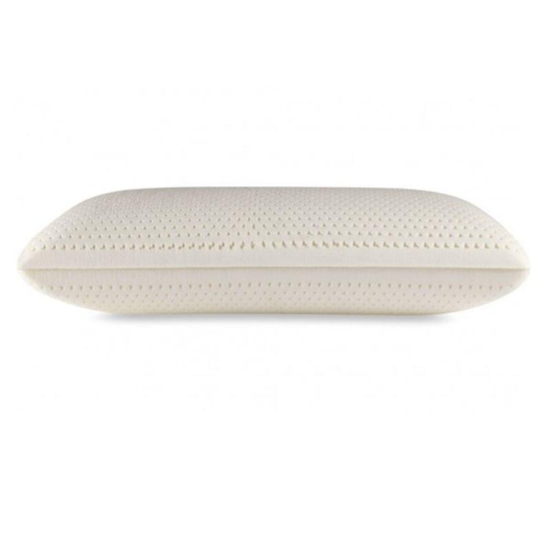 Taille Standard 100% oreiller en Latex de Talalay naturel pour le mal de cou, avec couverture intérieure en coton et couverture en bambou zippée dans un sac en PVC