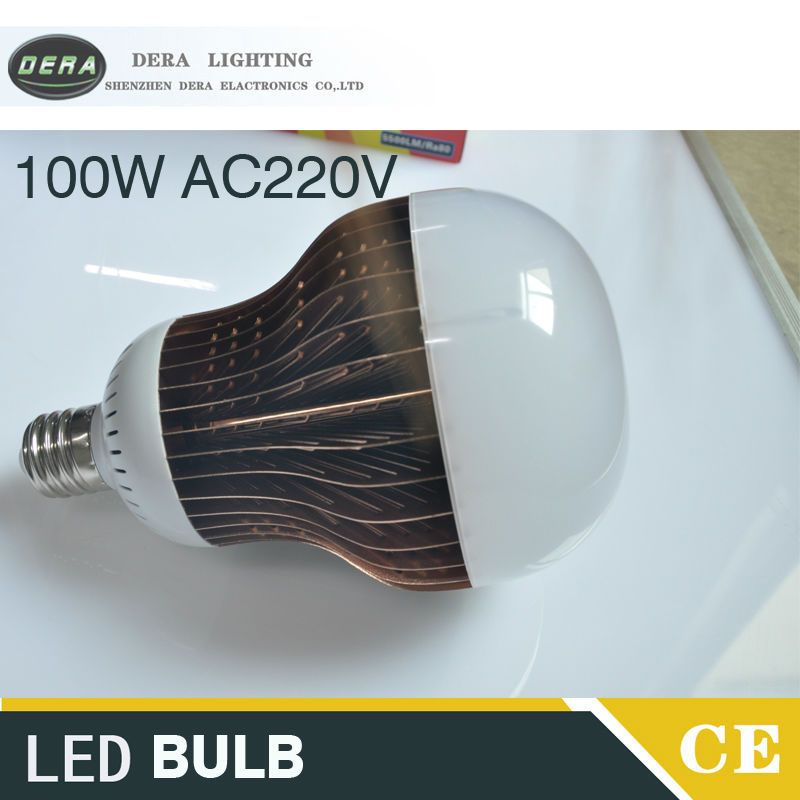E40 100W LED Bulbs 220V sopt light Energy Saving Lamp Home High Bay Light high brightness new designs e40 led warehouse high bay bulbs 150w 110lm w super brightness led bulbs 100w replace tradition led mining lights