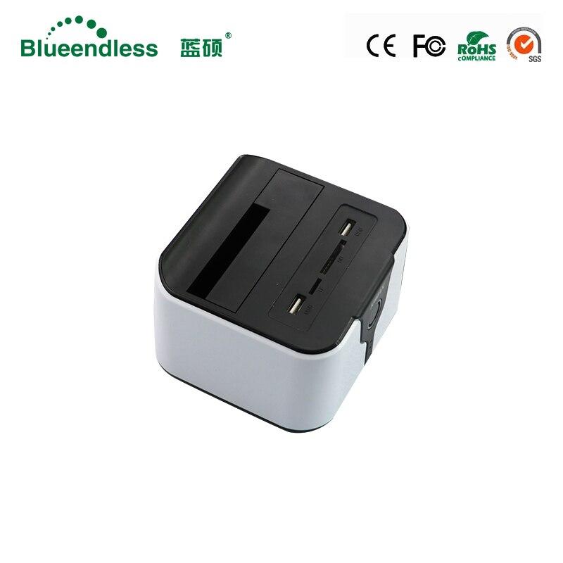 Hot Sale New plastic hdd box 3 5 SATA USB3 0 for 6TB wifi hdd box