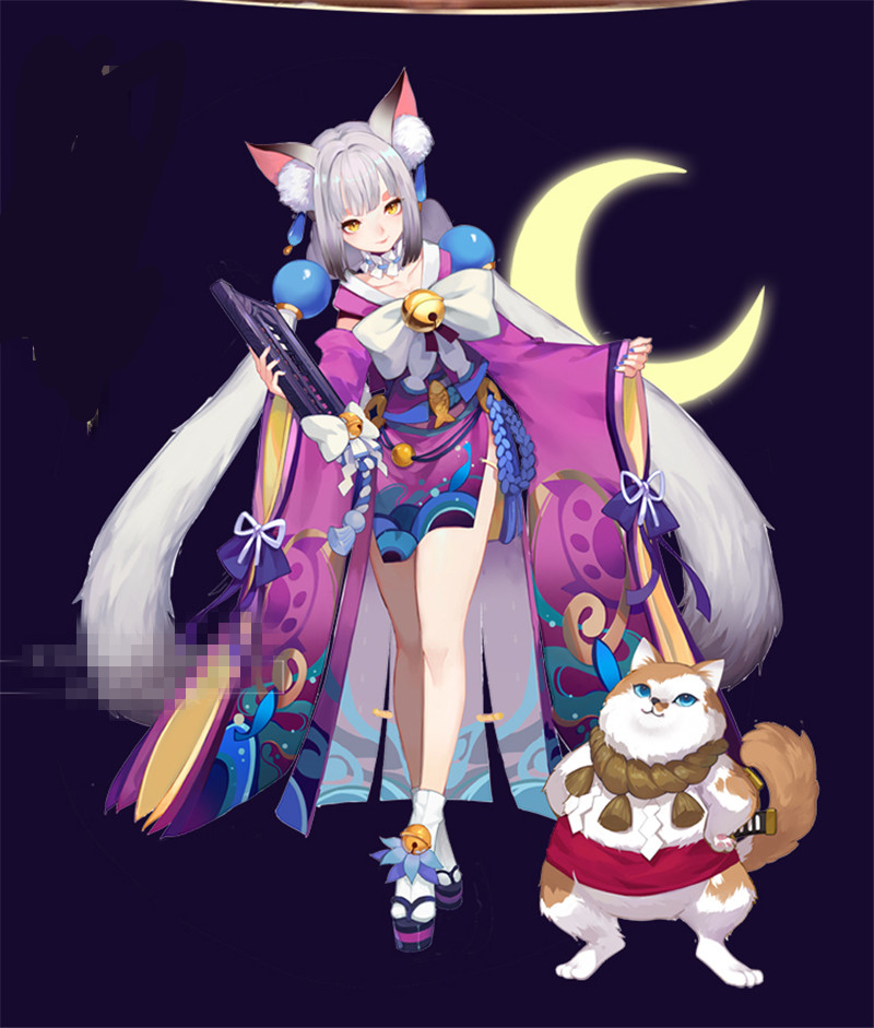 US $138 66 |Aliexpress com : Buy 2019 Hot Sale Anime Mobile Game Onmyoji  Unawakened Shikigami Cosplay Costume Dress Hot Sale Kimono Full sets from