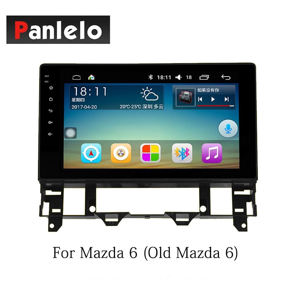 Panlelo Android 7.1 2 Din pour Mazda 6 Atenza CX5 Atenza Axela Auto 1 GB 16 GB Radio AM/FM GPS Navigation BT commande au volant