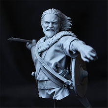 Bust resin 1/10 model  ancient historical figures Unpainted Unassembled model kit Free shipping