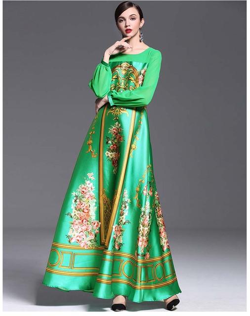 Patchwork Elegant Long Runway Dresses plus sizes