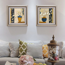 Frame Vintage Painting DIY By Numbers Kits Acrylic Paint On Canvas Handpainted Oil For Wall Artwork 70*100cm