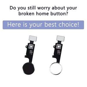 Image 2 - 10 adet 3rd nesil evrensel ev düğmesi iPhone 7 7 artı 8 8 artı flex kablo geri sıradan ev düğme dönüş fonksiyonu