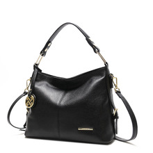 Womens real leather handbags High Quality lady shoulder bag of Famous Brand luxury genuine female
