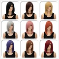 Fashion Women Lady Short Straight Full Wigs Heat Resistant Cosplay Party Hair
