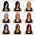 Mulheres da moda Senhora Reta Curta Cosplay Partido peruca de Cabelo Completa Perucas Resistente Ao Calor