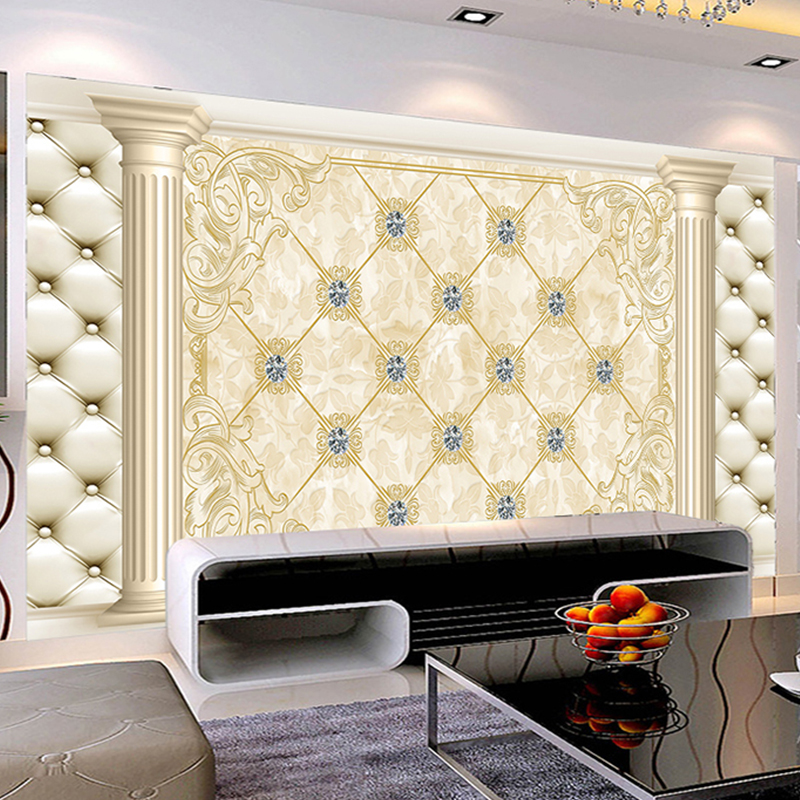photo wall mural decoration wallpaper Modern Art Wall living room textile paper mural non-woven fabric material bedroom beibehang non woven glitter wallpaper wall coverings wall paper mural ktv coffee bar wall art decor pu leather fabric elastic