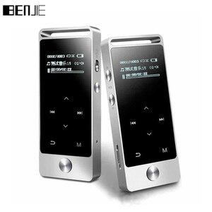 Image 1 - Tela de toque original de alta fidelidade mp3 player 8 gb benjie metal alta qualidade de som entrada nível lossless music player suporte tf cartão fm