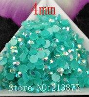 Free Shipping 5000pcs Dark Acid Magic Color AB Jelly 4mm Resin Rhinestones Nail Art Mobile Phone