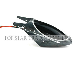 Attop YD118 rc helicopter spare parts YD 118-01 head cover (black)