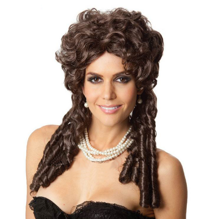 Curly Hair Women - Free Shipping New Style Brown Princess Cosplay Women Hair 3SH038