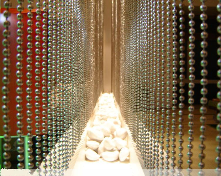 Stainless Steel Ball Chain Curtain