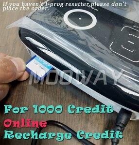Image 1 - MOOWAY I PROG universal chip Credit for online Credit recharge 1000 Credit
