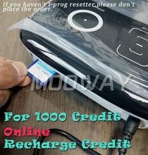 MOOWAY I PROG universal chip Kredit für online Kredit aufladen 1000 Kredit