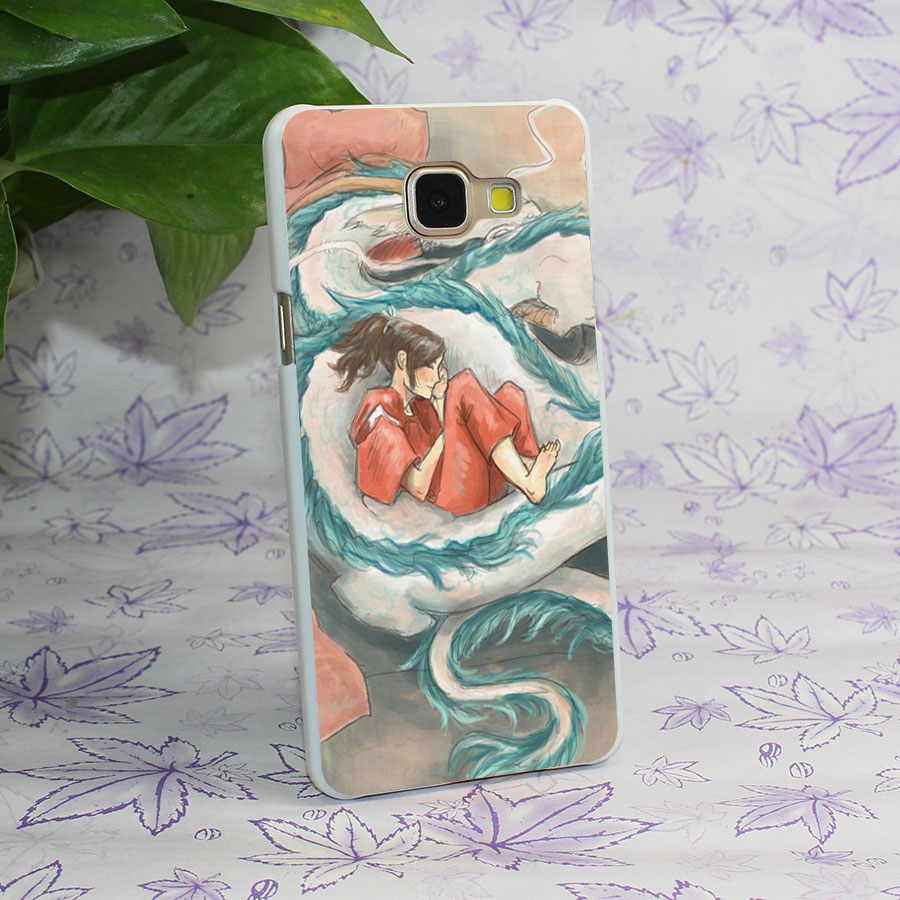 Spirited Away Quotes Studio Ghibli Anime Spirited Away Design Hard White Case Cover For