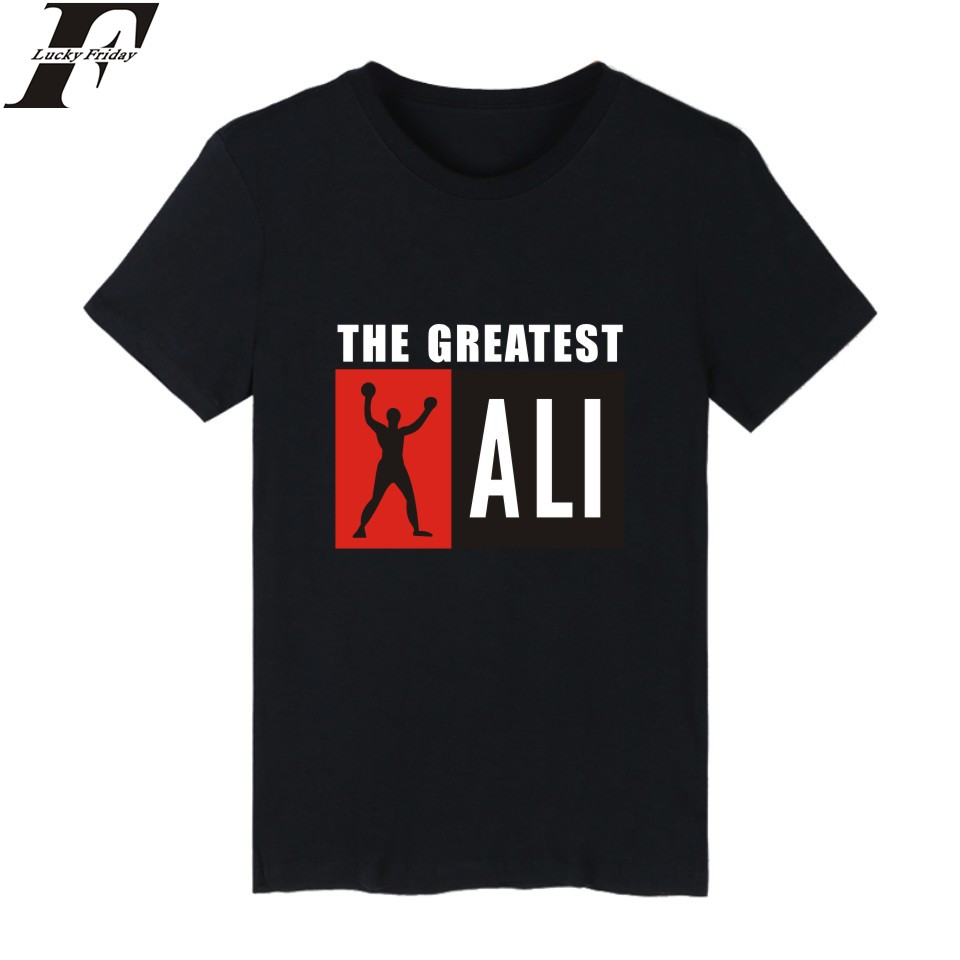 LUCKYFRIDAYF Ali Cartoon Short Sleeve   T  -  shirts   Cotton   T     Shirt   Men O Neck And Plus Size Funny Tee   Shirts   For Men In Summer Casual